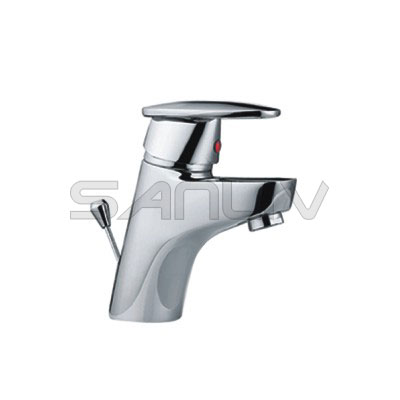 Bathroom Faucet on Single Handle Brass Bathroom Sink Faucet Chrome   Cheap Bathroom