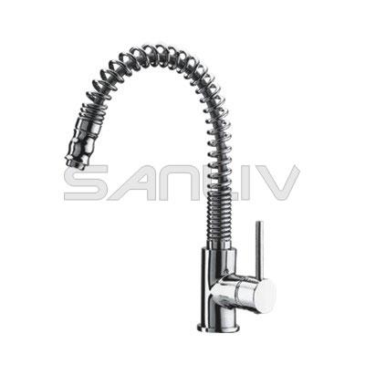 Commercial Swivel Spout Pre-rinse Kitchen Faucet