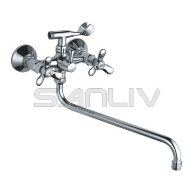 Traditional Cheap Two Handle Bath Mixer Faucet | Bathtub ...