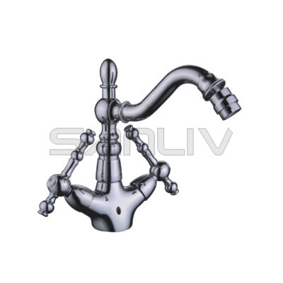 Two Handle Bidet Mixer Chrome 83902