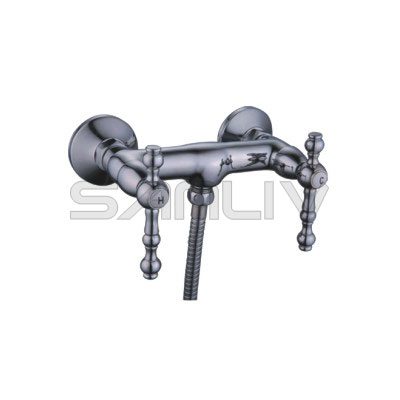 Wall-mounted dual-handle Shower mixer taps