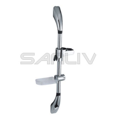 Adjustable Shower Head Slide Bar Chrome