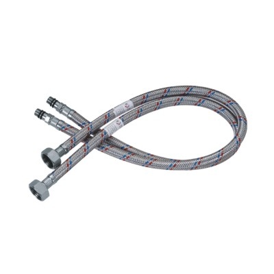 Braided Flexible Hoses For Deck Mounted Faucet Water Supply Braided Flexible Metal Hose