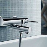 Wall Mount Faucet-Contemporary Bathroom Design