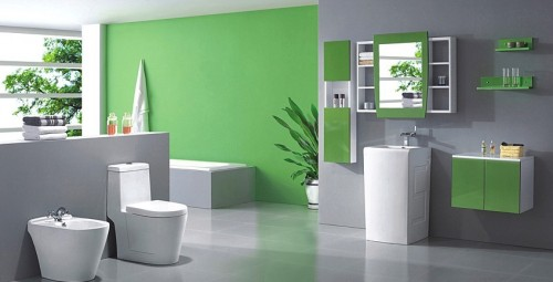 Modern-luxury-bathroom-design-in-white-green-gamma