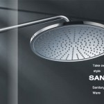 Enjoy a Spa at Home with Rainfall Showerheads