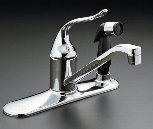 Charmant Kitchen Faucet Side Spray