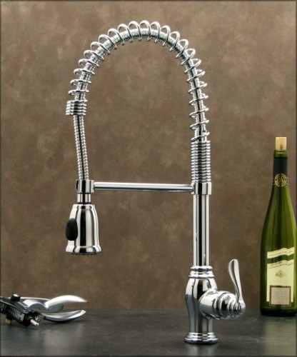 ... Kitchen Sink Faucet W/Hand Spray Head-Hose Pull-Out Spray Kitchen