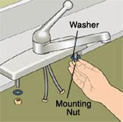 New Kitchen Faucet Installation 6