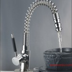 Pullout Spray Kitchen Sink Mixer Tap Faucet