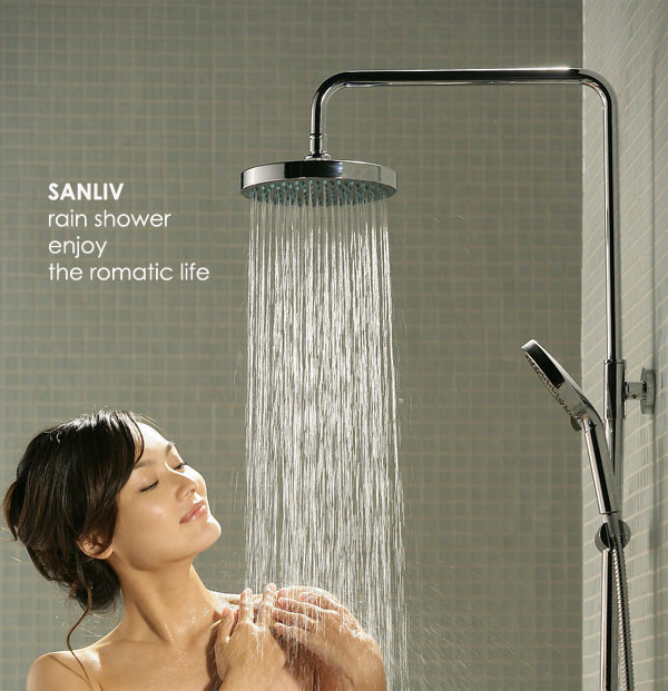 Shower Head Slide Bar Installation