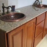 Oil Rubbed Bronze Faucet for antique copper bathroom sinks