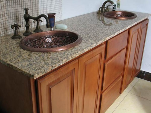 Oil Rubbed Bronze Faucet for antique copper bathroom sinks ...