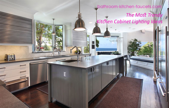Trendy Kitchen Cabinet Lighting Design Ideas