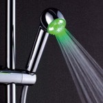 LED Light Hand Held Shower head photo