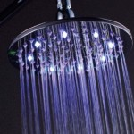 LED Light rain showerheads photo
