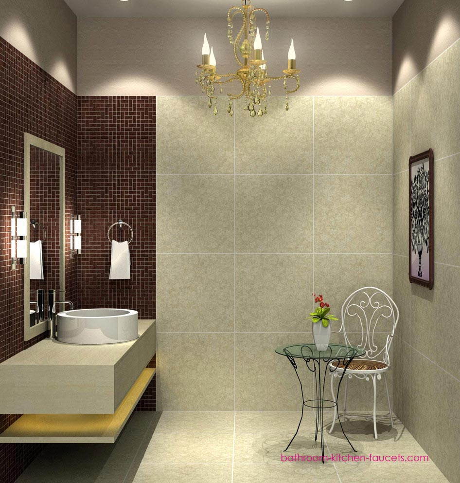 With the right small bathroom decorating ideas you can create an