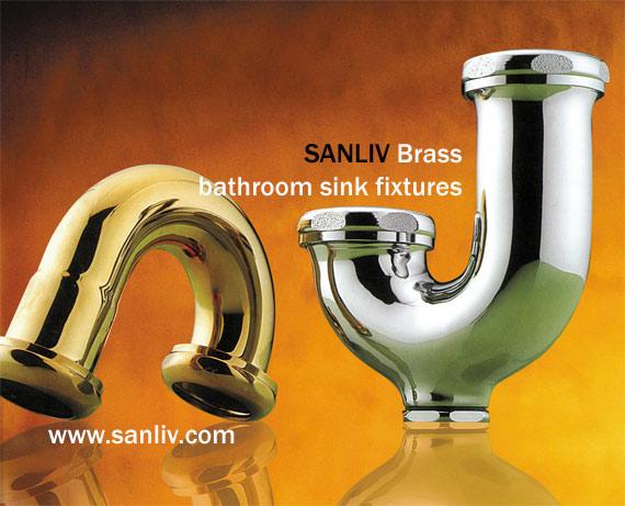 Brass Bathroom Sink Fixtures Picture