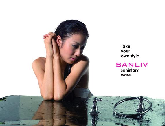 Sanliv Single or Double Robe Hook Chrome