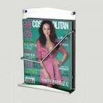 Stylish and Practical Bathroom Magazine Racks