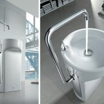 Roca Amberes Space Saver Wash Basin