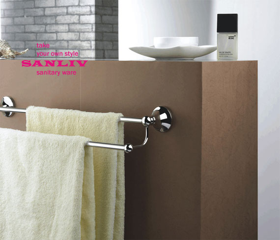 How to replace a Bathroom Towel Bar