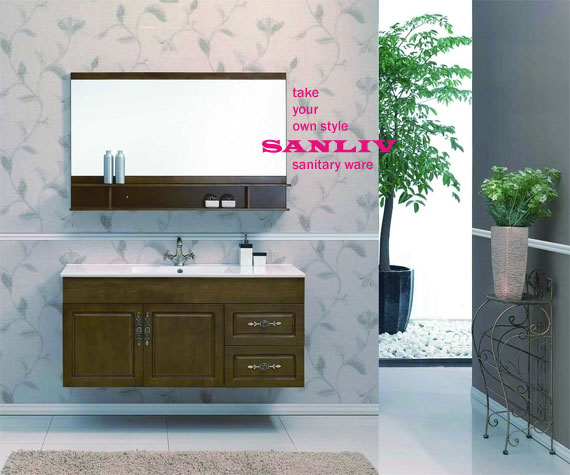 Choose a Bathroom Vanity Cabinet photo