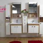 Choose bathroom vanity mirror and faucet fixture