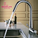Kitchen Mixer Tap is a faucet that mixes hot and cold water
