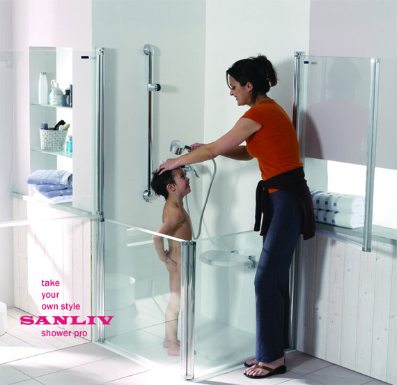 Shower Enclosures and Shower Fixtures for Kids photo