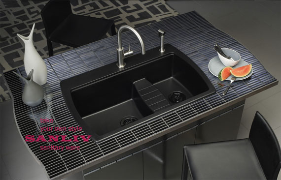 Fashion Kitchen Sinks And Faucets Trends photo