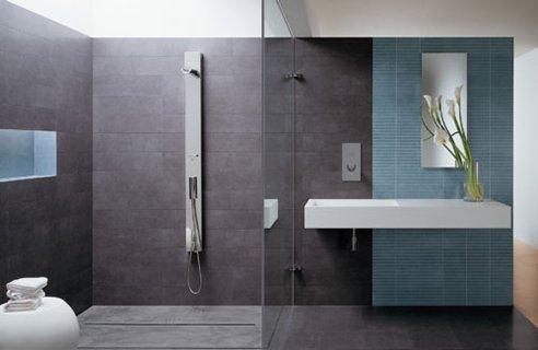 Bathroom Design Small Space on Tips To Create A Bigger Space For Small Bathroom Design   Cheap