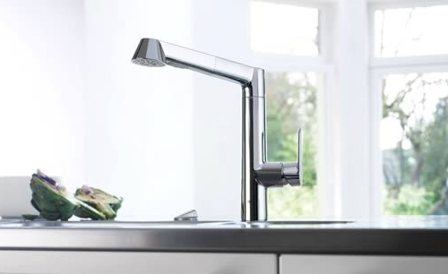 Grohe K7 Cosmopolitan Pullout Kitchen Faucet Line photo