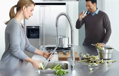 Single Handle Grohe K7 Cosmopolitan Kitchen Faucet Line picture