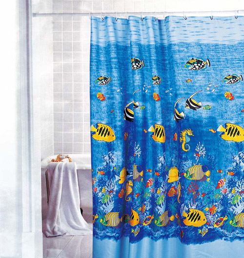Beautiful Kids Shower Curtains For Childrens Bathrooms