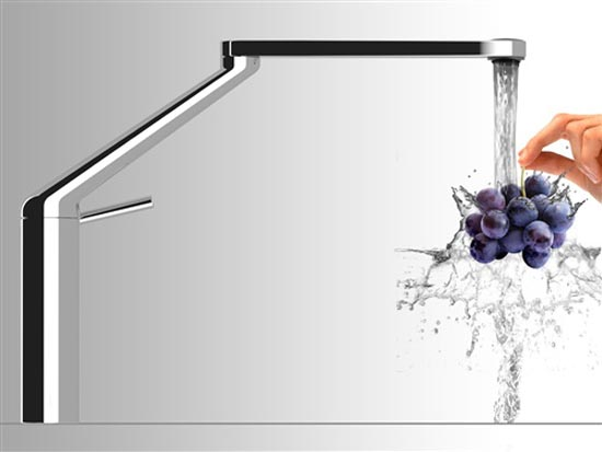 Amazing 360 degree rotation kitchen faucet by nobili Designer kitchen faucets