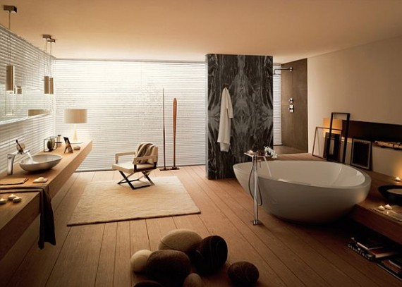 contemporary bathroom design tips