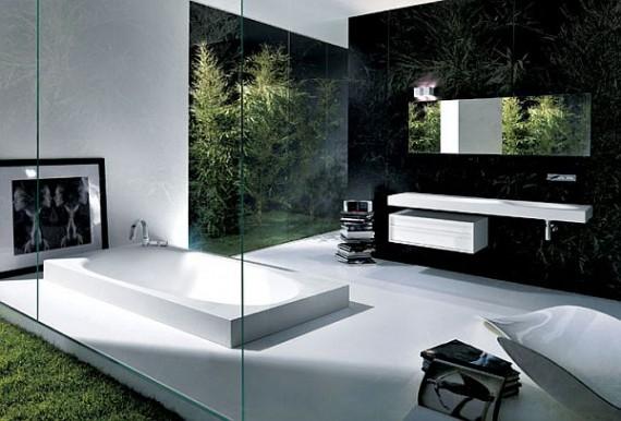 Modern minimalist bathroom decorating ideas