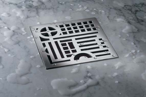 Design The Bathroom Floor With Square Shower Drains Home