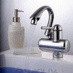 Electric Instant Hot Water Washbasin Faucet for Russian Market