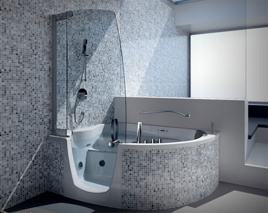 Corner Tubs | Custom, Small, Large, Shower Combo, Corner Bathtubs