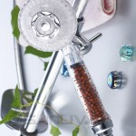 Healthcare Multi-function Crystal Anion SPA Hand Shower