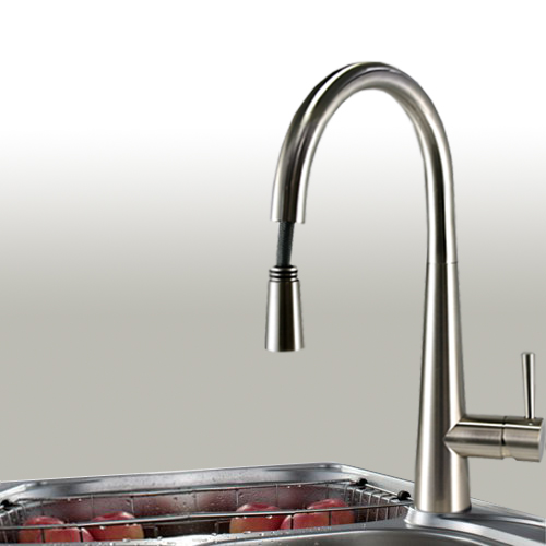 Brushed Nickel Pull-Out Kitchen Faucet in USA and Canada | Best ...