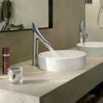 Which Duravit wash basin matches Hansgrohe Axor Starck Organic faucet