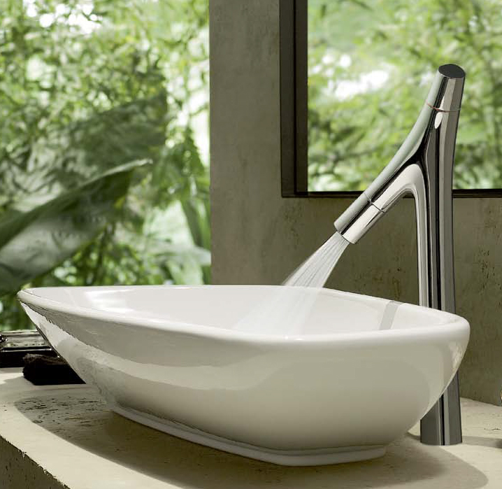 Axor Starck Organic Washbasin Faucets By Hansgrohe Bathroom Basin Mixer Taps