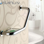 Decorative Bathroom Safety Grab Bar Designs