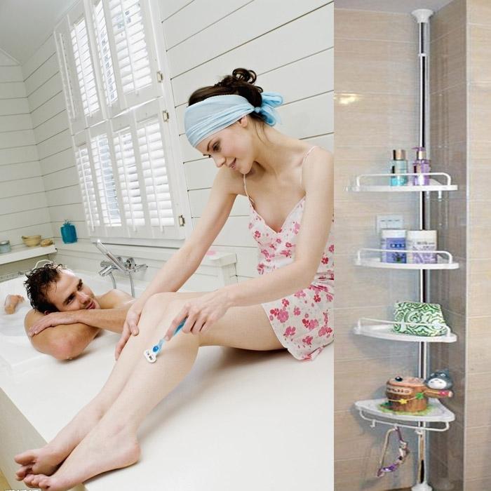 Corner Shower Shelf Unit