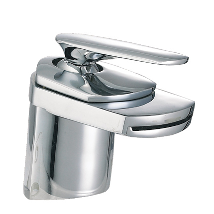 Chrome-Waterfall-Vessel-Faucet