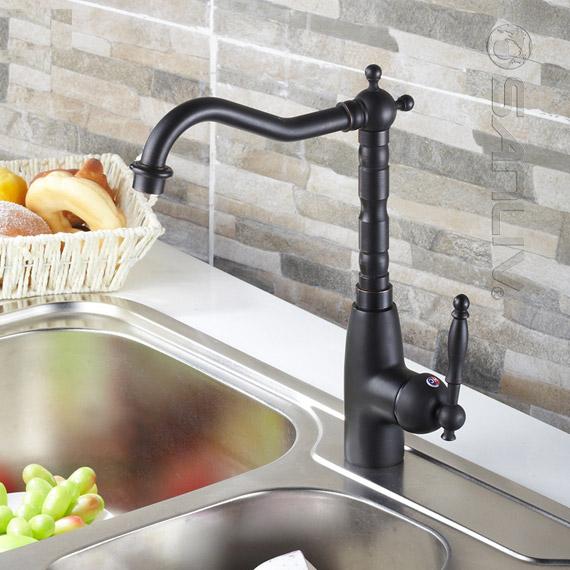 Single Handle Oil Rubbed Bronze Centerset Kitchen Faucet Best